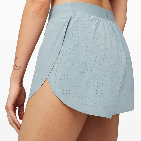 "Lululemon Find Your Pace Short 3"" *Lined Blue Cast"